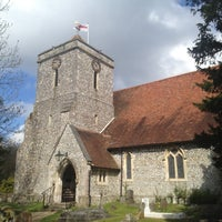 Photo taken at St.John's, Purbrook by Andrew B. on 4/27/2013