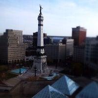 Photo taken at Sheraton Indianapolis City Centre Hotel by Jeremi K. on 10/16/2012