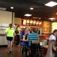 Photo taken at Taco John's by Neil D. on 5/12/2013