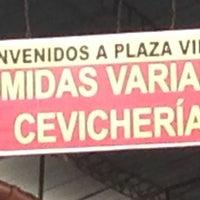 Photo taken at Patio comidas - Mercado Plaza Villa Sur by Jeremy B. on 7/17/2013