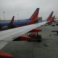 Photo taken at Boarding a Southwest Airlines Flight by Shayna on 5/4/2016