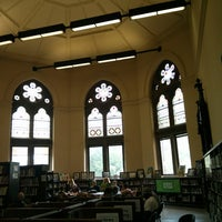 Photo taken at New York Public Library - Jefferson Market by Shayna on 6/6/2013