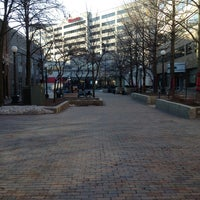 Photo taken at Pedestrian Mall by Atu D. on 2/13/2013