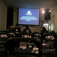 Photo taken at Auditorio Oficina Nacional de Procesos Electorales by Jorge A. on 7/10/2013