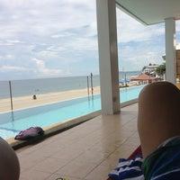 Photo taken at Kahuna Beach Resort & Spa by Edu P. on 6/8/2013