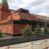 Photo taken at Lenin's Mausoleum by Виталий Д. on 7/10/2013