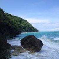 Photo taken at Bali Cliff Beach by Константин J. on 4/17/2013