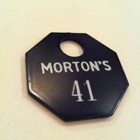 Photo taken at Morton's The Steakhouse by Jorge L. on 12/3/2012