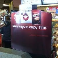 Photo taken at Tim Hortons by Samuel. on 2/26/2013