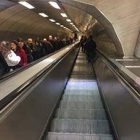 Photo taken at Levent Metro İstasyonu by Koray A. on 11/28/2017