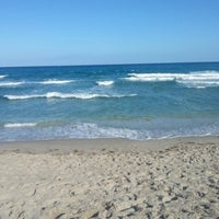 Photo taken at Spanish River Beach by Elizabeth F. on 1/27/2013