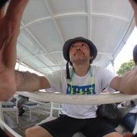 Photo taken at 浦内川遊覧船乗り場 by Akira I. on 8/18/2014