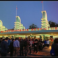 Снимок сделан в Disney California Adventure Park пользователем Melanie C. 4/17/2013