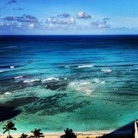 Photo taken at Waikīkī Beach by Tancho S. on 4/26/2013