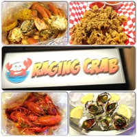 Photo taken at Raging Crab by Tancho S. on 3/1/2013