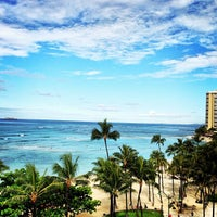 Photo taken at Waikīkī Beach by Tancho S. on 4/24/2013