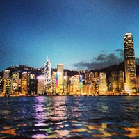 Photo taken at Victoria Harbour by Benj R. on 6/7/2013