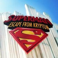 Снимок сделан в Superman: Escape From Krypton пользователем Stacey R. 6/5/2013