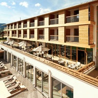 Photo taken at Exquisit Hotel, Oberstdorf by mooonhotels on 12/29/2013
