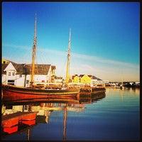 Photo taken at Florø by Martin Phillip F. on 6/10/2013