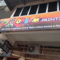 Photo taken at ohsem printing by Bawunk S. on 4/6/2014