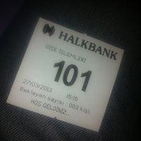 Photo taken at Halkbank by Mete G. on 3/27/2013