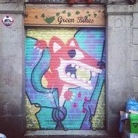 Photo taken at Green Bikes Barcelona Rentals & Tours by Dot L. on 5/23/2013