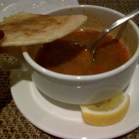 Photo taken at Bollywood Lounge & Restaurant by Hanim K. on 2/4/2013
