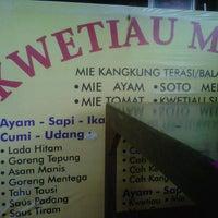 Photo taken at Kwetiau Medan by Hello K. on 2/13/2013