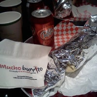 Photo taken at Mucho Burrito Fresh Mexican Grill by Geomher A. on 12/6/2012