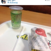 Photo taken at Subway by Patrícia R. on 8/11/2014