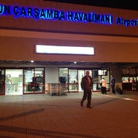 Photo taken at Samsun Çarşamba Airport (SZF) by Aleyna B. on 6/26/2013