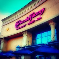 Photo taken at The Cheesecake Factory by Andy P. on 11/4/2012