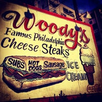 Photo taken at Woody's Famous CheeseSteaks by Andy P. on 10/14/2012