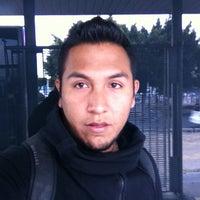 Photo taken at Metrobus Nicolas Bravo by Luis Alvaro N. on 3/29/2013
