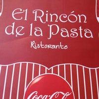 Photo taken at El rincón de la pasta by Sergio B. on 2/7/2013