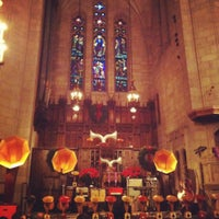 Photo taken at Fourth Presbyterian Church by Andy P. on 12/22/2012