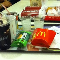 Photo taken at McDonald's by Gracey T. on 10/11/2012