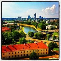 Photo taken at Vilnius by Natali A. on 6/4/2013