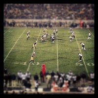 Photo taken at Notre Dame Stadium by joshua m. on 11/17/2012