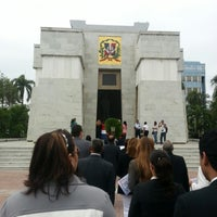 Photo taken at Parque Independencia by Edgar E. on 1/30/2013