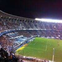Photo taken at Estadio Juan Domingo Perón (Racing Club) by Fabian M. on 2/16/2013
