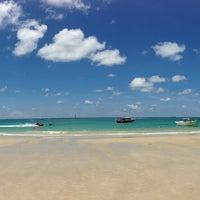 Photo taken at Sai Kaew Beach by Phunlop S. on 5/1/2013