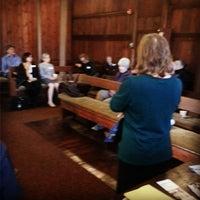 Photo taken at Flushing Meeting House by John C. on 11/14/2015