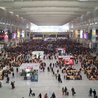 Photo taken at Shanghai Hongqiao Railway Station by Rebecca X. on 2/9/2013