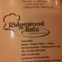 Photo taken at Ridgewood Eats by Sean P. on 2/26/2013