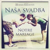Photo taken at Nick & Lenka - Notre Mariage / Nasa Svatba by Tomas L. on 5/18/2013