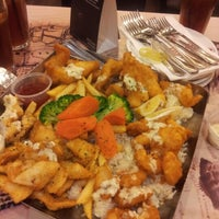 Photo taken at The Manhattan Fish Market by Hashilah H. on 12/29/2012