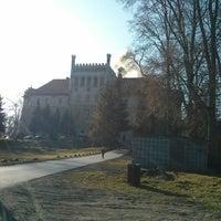 Photo taken at Zamek na Mirowie w Książu Wielkim by Michał Ć. on 3/9/2014