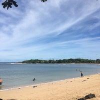 Photo taken at Nusa Dua Beach by Ульяна М. on 2/15/2017